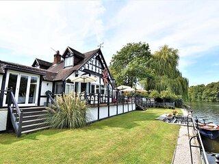 King Edward House Windsor - luxury riverside property for short term holiday let