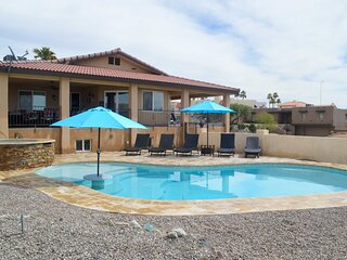 Gorgeous Hilltop Lake Havasu Home w/ Private Pool!