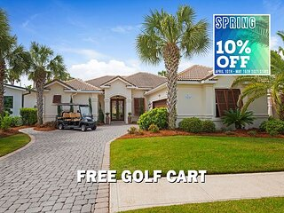 5/3-5/8 OPEN! FREE Golf Cart, Pool~Hotub (Communal), $200LiveWellCredit+Perks