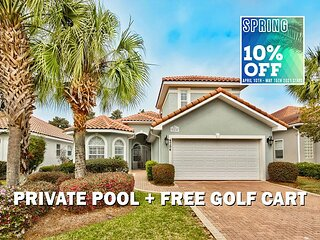 5/11-5/15 OPEN! FREE Golf Cart, Pool, Hotub (Communal), $200 LiveWell Credit!