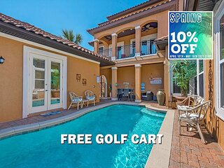 4/21-4/24 OPEN! FREE Golf Cart, Pool, Updated +$200LiveWellCredit, VIP PERKS!