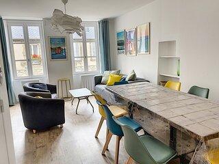 Charmant appartement atypique de la Haute-ville sur 3 niveaux, 7 couchages