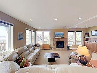 Expansive Beach Retreat | 2 Decks & Balcony | Corner Lot, 50' to Ocean