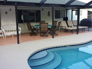 Private Pool - Great family vacation pool home local golf beaches & more