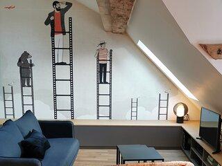 Vieil Annecy Appartement standing Lac-Paquier-Ceour historique
