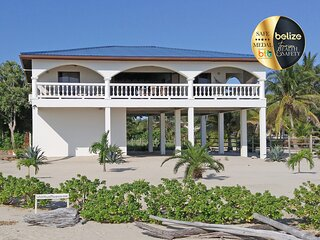 The White House in Placencia, right on the beach, in Placencia Village, Belize