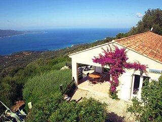 La Raggia, Residential area of the village of Olmeto