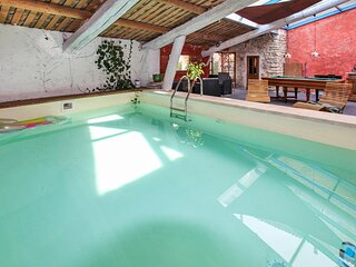 Awesome home in Lagnes with Indoor swimming pool, Outdoor swimming pool and 2 Be