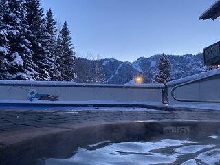 THE CHRISTOPHE 704AB - Walk to River Run Ski Lodge!