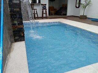 Espectacular casa vacacional con piscina privada full equipada