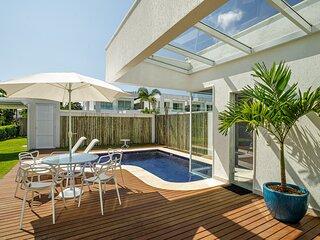 Estonteante casa de 5 suites em exclusivo condominio em Angra dos Reis