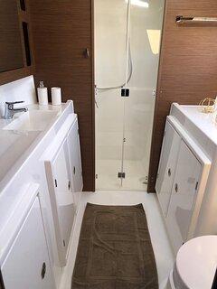 Lagoon 42fts - bathroom New Catamaran 2019