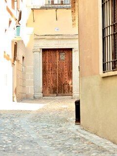 Entrada al Edificio Histórico del S.XVI