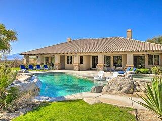 NEW! Elegant Palm Springs Villa w/ Pool & Hot Tub!