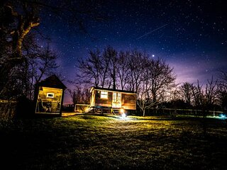 Shepherd's Hut, Romantic, Luxury retreat