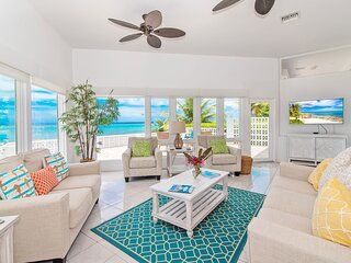 DREAMY 2 BR OCEANFRONT VILLA WITH PRIVATE BEACH