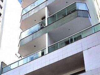 Apartamento bem localizado com Wi-Fi no Centro de Guarapari