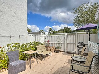 NEW! Condo with Pool Access, 4 Miles to Beaches!