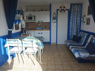 Studio pour 2 personnes avec terrasse