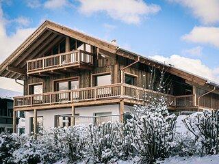 designchalets auf 685 - Gipfelhütte Premium Chalet im Chiemgau