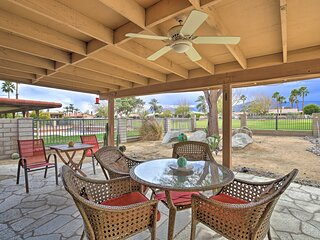 NEW! Indio Escape w/ Fire Pit & Resort Amenities!