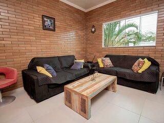 Casa Agradável e Silenciosa, bairro Perequê em Ilhabela