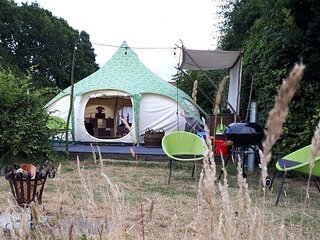 Belle Tent at Oakwood Glamping