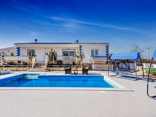 Lovely Villa Mateo, in Zadar, with a Pool