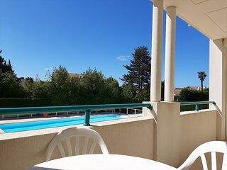 Golf 106 -  belle terrasse et piscine collective