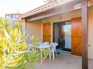 LS204 : Villa 3 pièces 4 couchages GRUISSAN