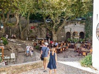 A beautiful  Provençal villa at a unique location in the village of Seillans.