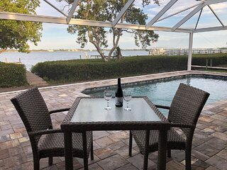 New Pool, New Patio, New Beach on Lemon Bay with Dock, Recently Remodeled