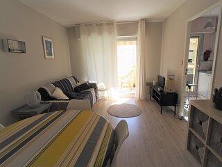 Appartement pour 4 personnes hyper centre ville avec terrasse