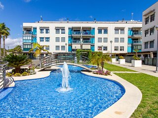 Amazing apartment in Santa Pola with Outdoor swimming pool, WiFi and 2 Bedrooms