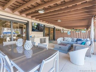 Waterfront house in hallandale