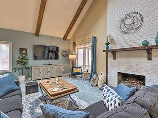 NEW! Modern Home: Deck, BBQ, Games, Fire Pit, Etc!