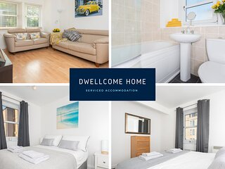 DWELLCOME HOME Nelson Court City Apartment FREE PARKING FAST BROADBAND