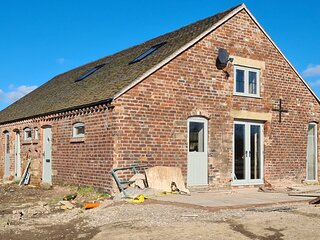 The Barn at Wylde Goose - Brand New with Stunning Countryside Views, near Leek