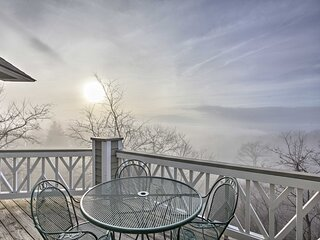 NEW! Charming Condo w/ Mtn Views: Golf, Hike & Ski