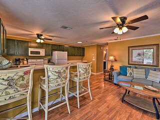 NEW! Gulfview Lido Key Gem - Walk to Beach & Shops