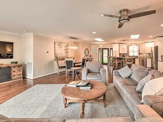 NEW! Waterfront Home: Private Beach on Lake Norman