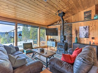 NEW! Cozy St. Mary's Escape w/ Hot Tub & Mtn Views