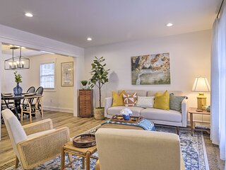 NEW! Modern Traditional Retreat - 7 Mi to Raleigh!