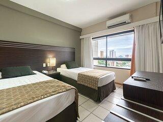 OTH1205 Flat na Ilha do Leite, Recife, um quarto. Fica em um dos mais importante