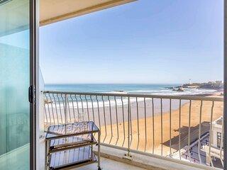 Vue d'exception a Biarritz