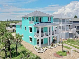 Limin' House oceanfront home in Flagler Beach! New to the rental market!