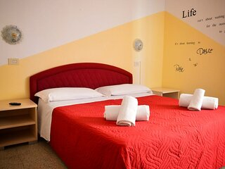New Hotel Cirene Comfort Double room and full pension package