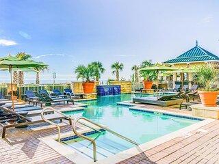 One Oceanfront Bedroom Suite. Pool. Parking!