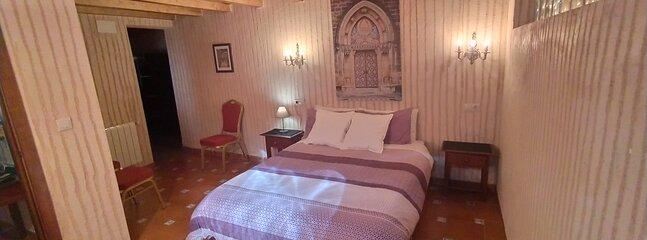 Dormitorio Matrimonio 1 planta baja con baño on suite.