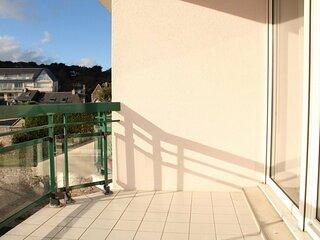 A ERQUY, Immeuble tranquille  CAP ARMOR  situee a 200M de la plage